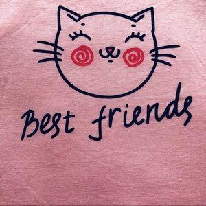 Ragdoll - Pink Kitty Tank Top